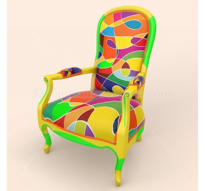 conseils pour relooker un fauteuil relooker meubles. Black Bedroom Furniture Sets. Home Design Ideas