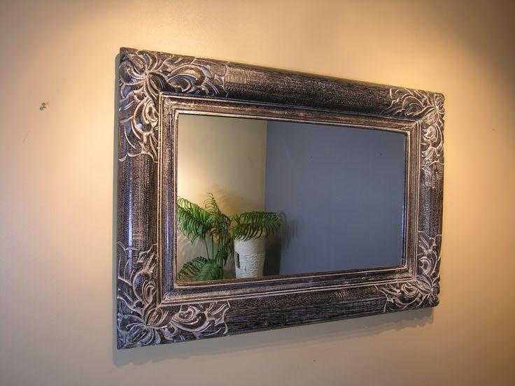 restaurer le cadre en bois d 39 un vieux miroir relooker meubles. Black Bedroom Furniture Sets. Home Design Ideas