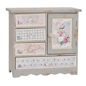 meuble-de-rangement-buffet-decoratif-style-papier-peint-fleuri