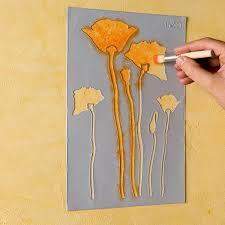 Peindre Au Pochoir Sur Un Meuble Relooker Meubles