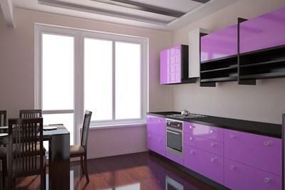 R nover un meuble laqu relooker meubles for Peinture pour meuble de cuisine laque