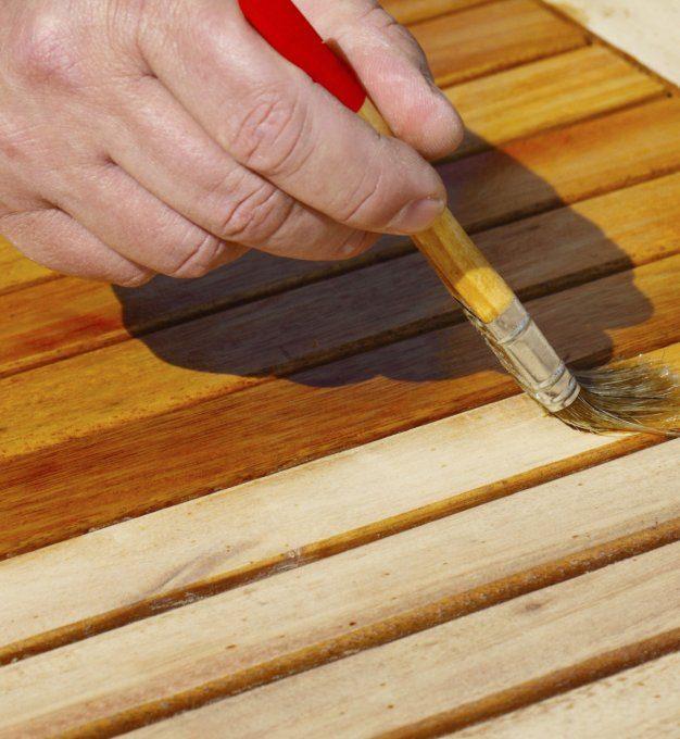 tout savoir pour la renovation d une table en teck relooker meubles. Black Bedroom Furniture Sets. Home Design Ideas