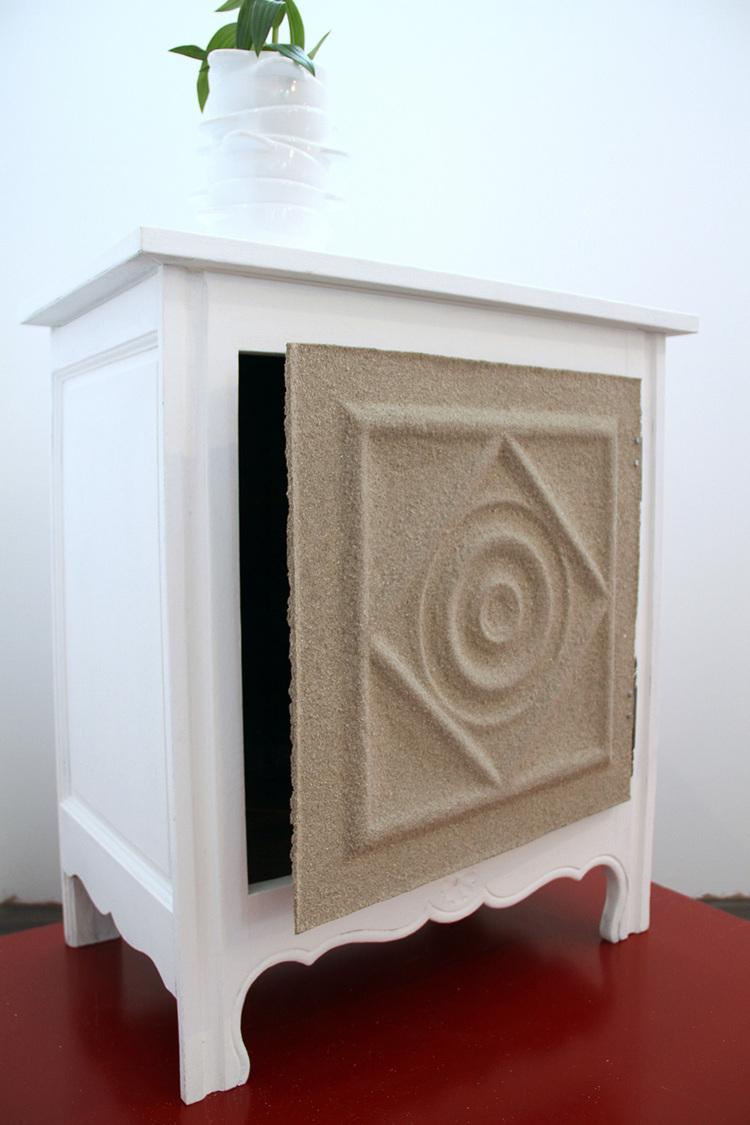 meuble aspect sable relooker un meuble With commenter obtenir des couleurs 6 meuble aspect sable relooker un meuble