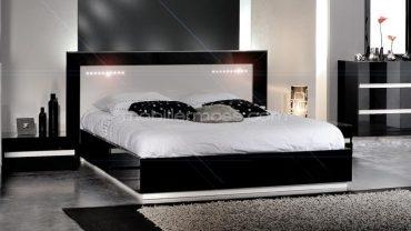 Relooker meubles for Chambre adulte complete noumea noir blanc
