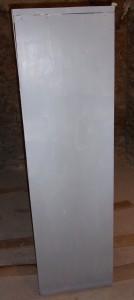 première couche peinture gris aluminium