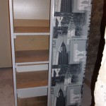 armoire relooking gris moderne