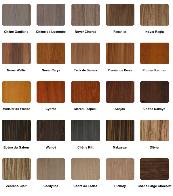 Marqueterie relooker meubles - Essences de bois pour meubles ...