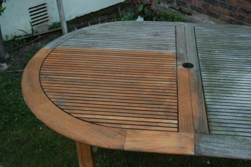 Awesome Decaper Une Table De Jardin En Bois Gallery - Design Trends ...