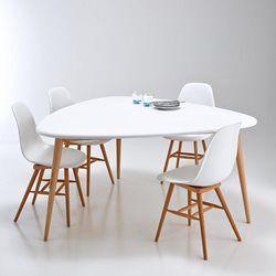 table de salle à manger tendance vintage enregistré depuis La Redoute