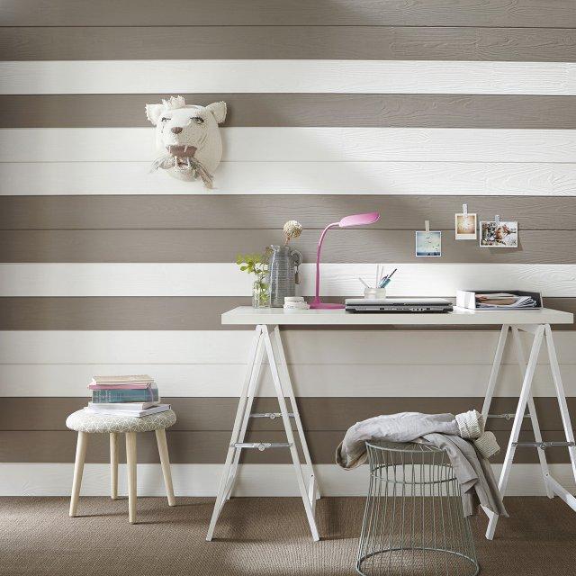 Peindre des murs en lambris relooker un meuble for Peindre lambris