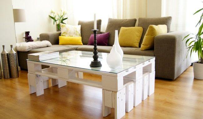 Tables Basses De Salon En Palettes - Relooker Un Meuble