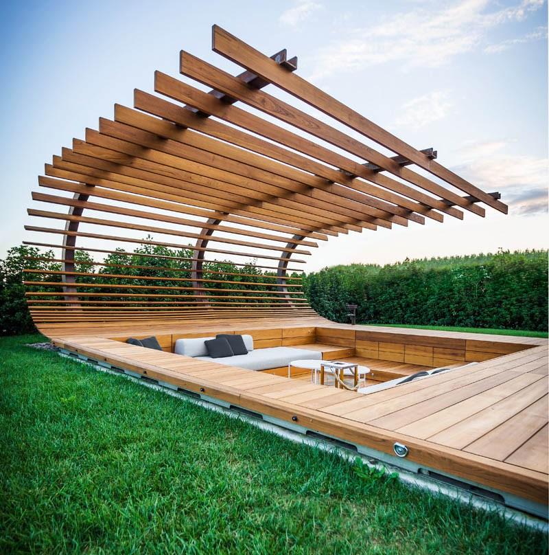 ▷ Aménagement extérieur et mobilier de jardin en bois ...