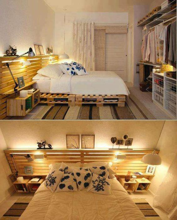 Tutos pour fabriquer des meubles en palette relooker un for Voir deco chambre
