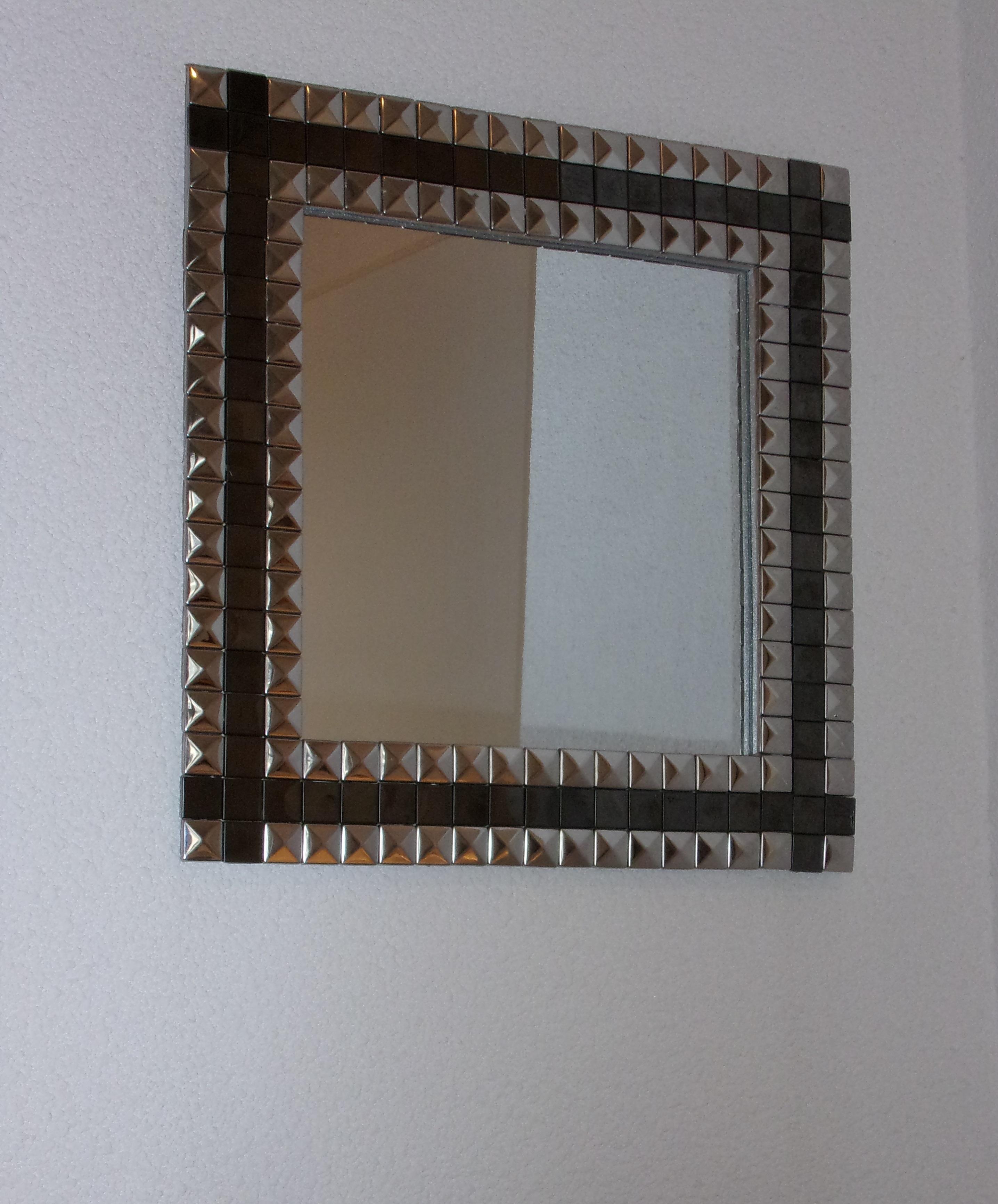 miroir noir argent relooker un meuble. Black Bedroom Furniture Sets. Home Design Ideas