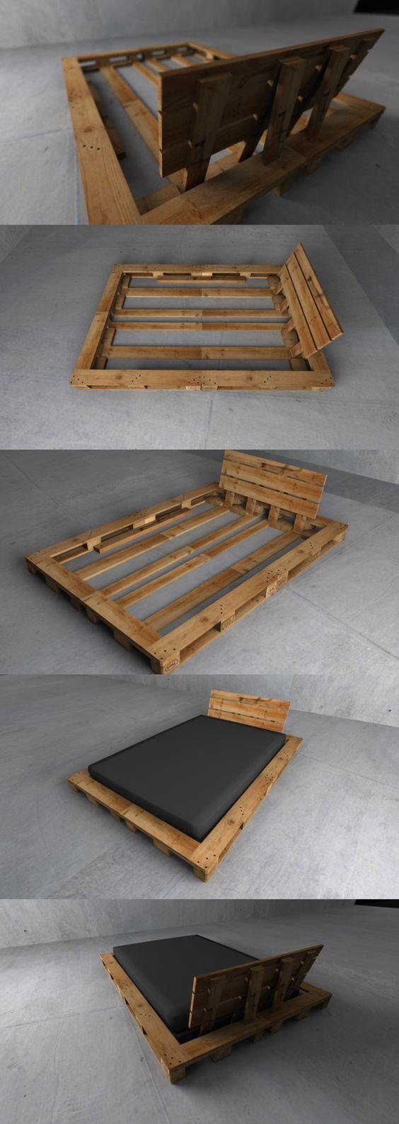 Chevet En Palette Bois ▷ tutos pour fabriquer des meubles en palette | relooker