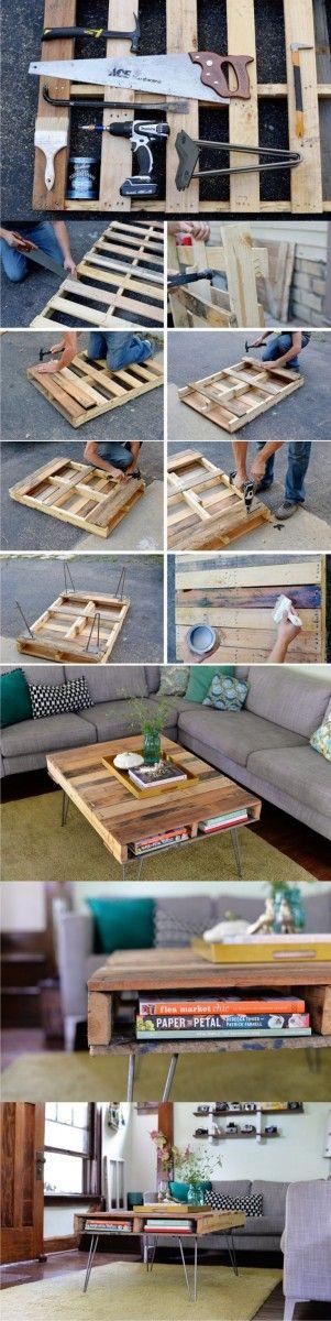 ▷ Tutos pour fabriquer des meubles en palette | Relooker ...