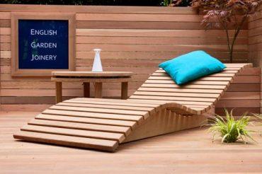 Relooker meubles - Chaise longue en palette bois ...