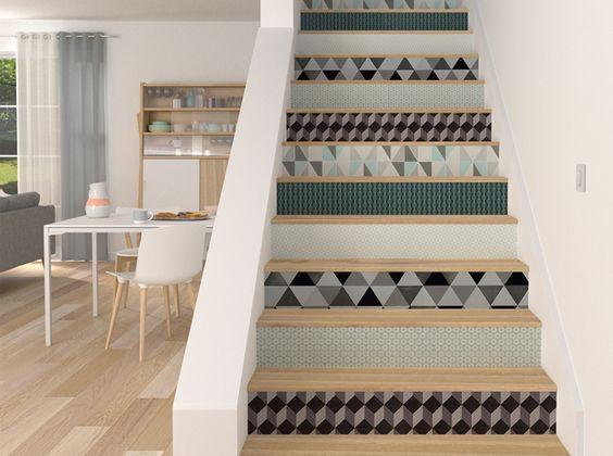comment relooker un escalier en bois relooker meubles. Black Bedroom Furniture Sets. Home Design Ideas