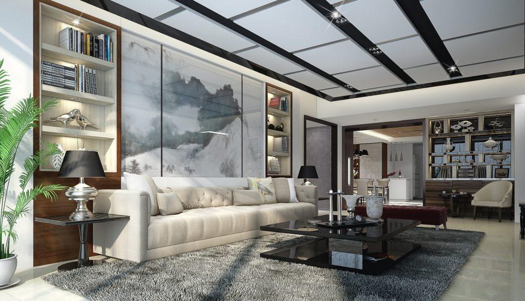Comment meubler un grand salon   Relooker meubles