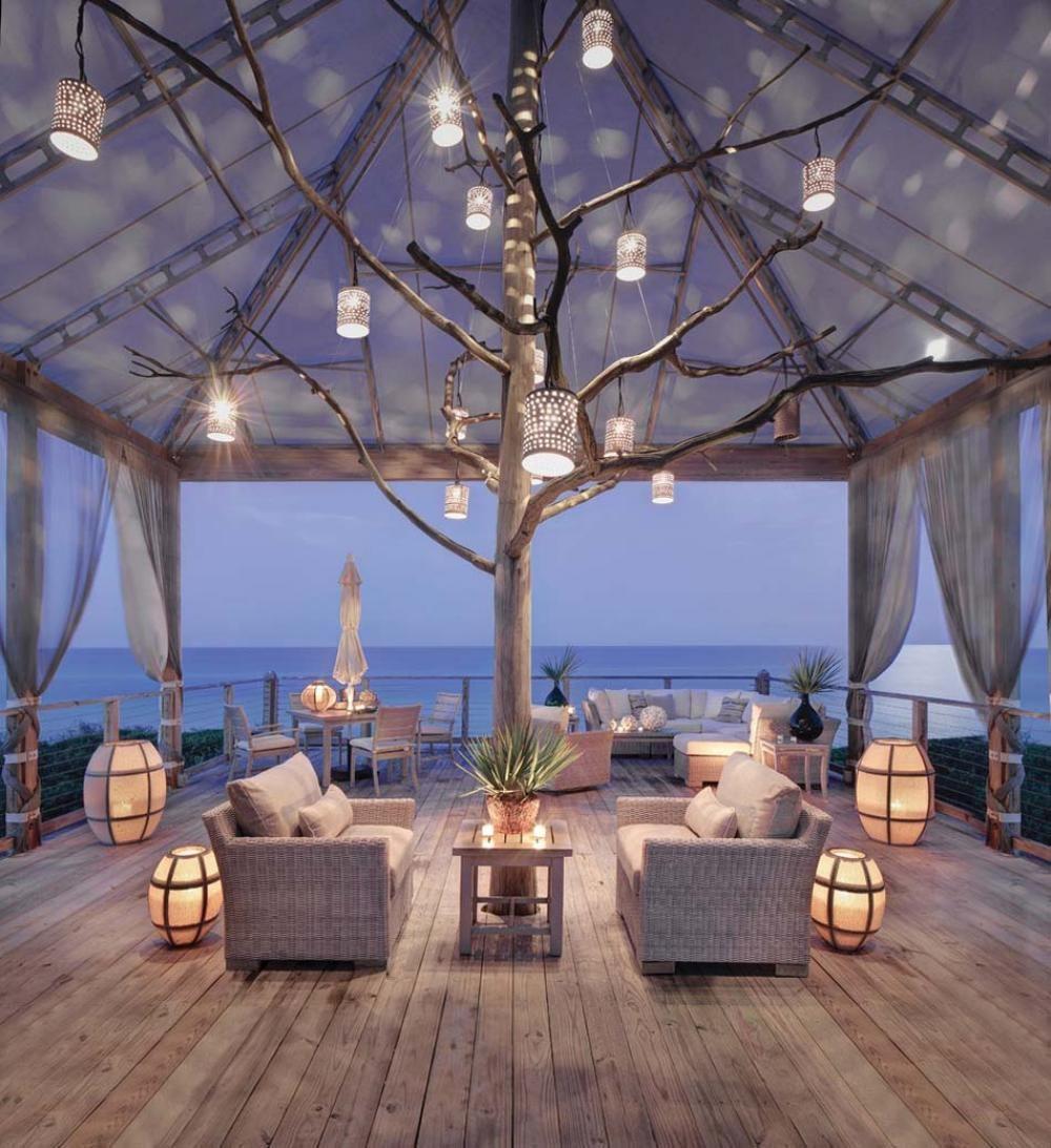 Terrasse Romantique Relooker Meubles