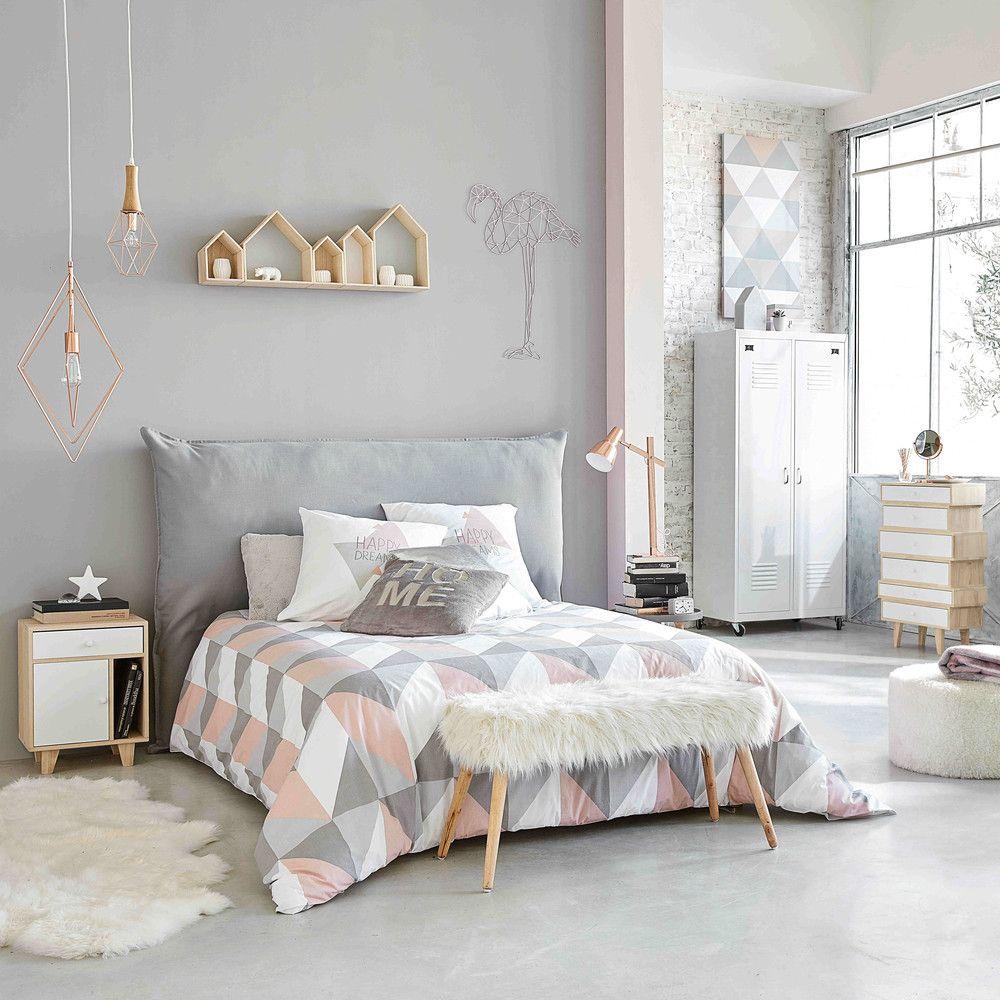 ▷ Une chambre en gris et rose de 20 à 20 ans  Relooker Meubles