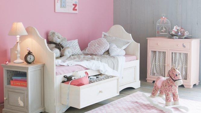 Chambre De Petite Fille Rose Et Gris Vinnyoleo Vegetalinfo