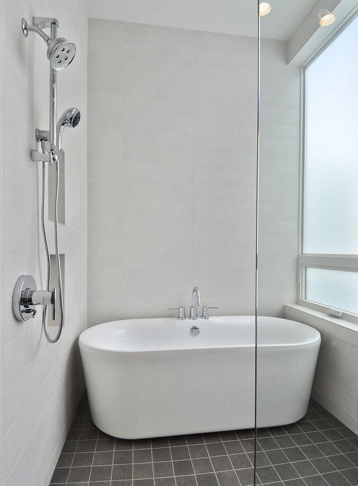 Comment am nager une petite salle de bain relooker meubles Baignoire pour petite salle de bain