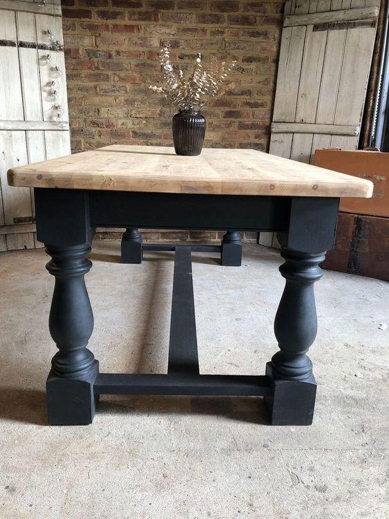 Renover Une Table En Bois Relooker Meubles