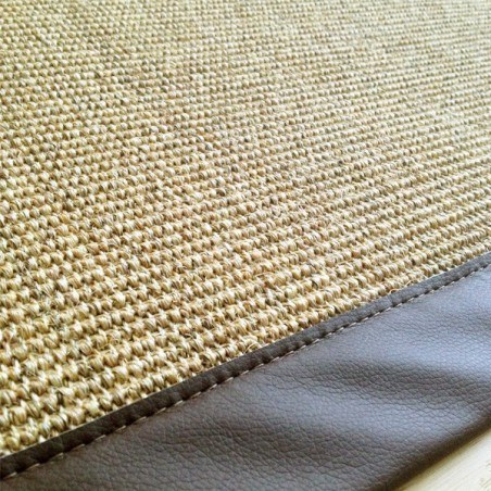 tapis coco rond comment les laver