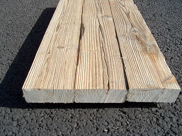 planche de bois brossé
